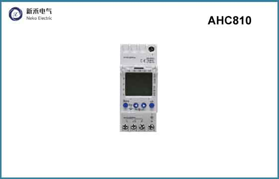 AHC810 Din rail weekly program digital time switch